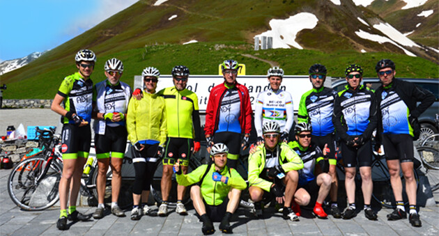 fietsen in de alpen