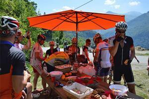 Tour de Vacance bevoorrading Alpe d huez