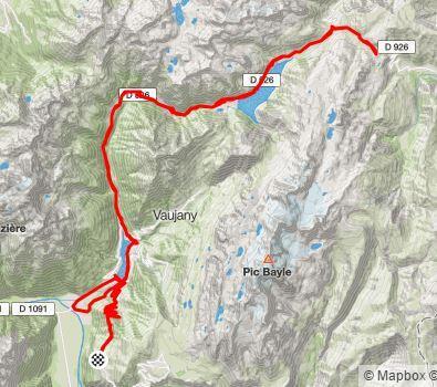 Dag 2: Col du Glandon en Col de la Croix de Fèr